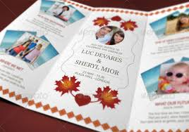 Tri Fold Wedding Invitations Template Wedding Cards Revealed By Blogankids Graphicriver