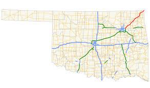 Oklahoma Zip Code Map Will Rogers Turnpike Wikipedia