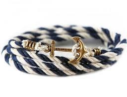 rope bracelet with anchor images Rope bracelet by kiel james patrick gadget flow jpg