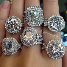 large diamond rings halo engagement ring settings 2017 wedding ideas magazine