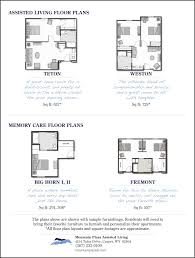 floor plans for assisted living facilities floor plans at mountain plaza mountain plaza assisted living