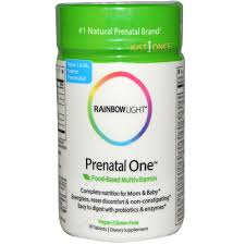 rainbow light prenatal one multivitamin rainbow light just once prenatal one food based multivitamin 30