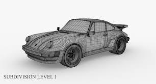 porsche 930 turbo porsche 911 930 turbo 3d asset cgtrader