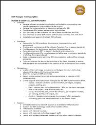 Job Description Sample Resume by Sample Resume Job Descriptions Free Resumes Tips