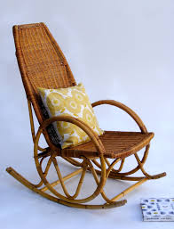 wicker rocking chair home u0026 interior design