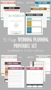 best wedding planner binder 30 page wedding planning printable set wedding planning bacon