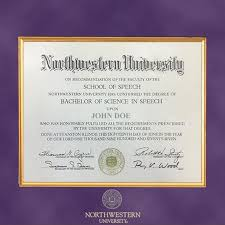 virginia tech diploma frame northwestern diploma frame excelsior graduation gift