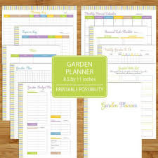 printable vegetable planner garden planner printable garden log track gardening plants and