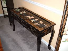black lacquer console table chinese console table finest classic chinese console table with