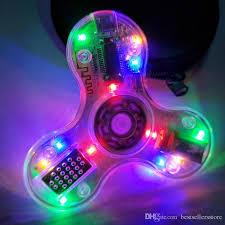 light up bluetooth speaker fidget spinner bluetooth speakers led light up hand spinner