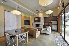 cement floor decorating ideas family room contemporary with