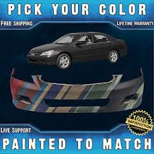 honda accord bumper cover painted to match front bumper cover for 2006 2007 honda