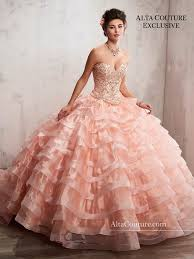 quinceanera dresses 2 ruffled quinceanera dress by s bridal alta couture