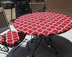 Tablecloth For Umbrella Patio Table Outdoor Tablecloth Etsy