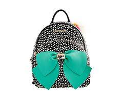 book bags with bows betsey johnson betseyfied bow backpack handbag 128 liked on