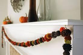 diy thanksgiving decor simple garland tutorial