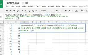 how to compare columns in google sheets