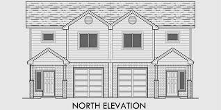 multi family house plans duplex plans triplex plans 4 plex plan