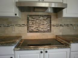 Glass Kitchen Backsplash Tile Decoration Ideas Appealing Home Interior Design Using Beach Glass