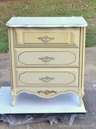 French White Bedroom Furniture by 20 Yard Sale French Provincial Painted Chest Turned Nightstand