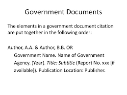awesome collection of how to cite a government publication in apa