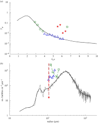the use of acoustic inversion to estimate the bubble size