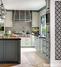 Interior Decorating Kitchen by Two Tone Kitchen Traditional Kitchen Trash Cans Providence