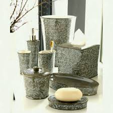 High End Bathroom Furniture by Signature Collection Luxury Dark Polished Horn Bathroom Set Inc