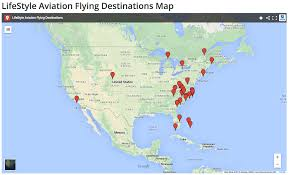 Google Maps Costa Rica Lifestyle Aviation Flying Destinations Lifestyle Aviation
