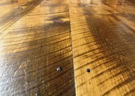 Hardwood Floor Nails Circular Saw Marks And Reproduction Nails Add A Patina Of History