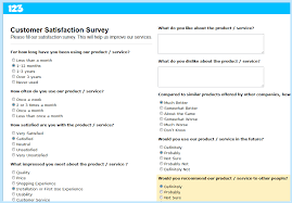 customer satisfaction report template how to create a customer feedback survey smashing forms