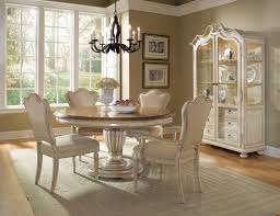 oak dining table and chairs ideas elegant white room classic