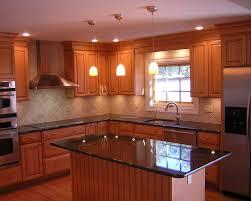 black granite kitchen island awesome l shape kitchen decoration with black granite kitchen