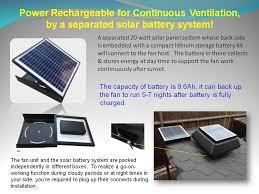 vent goods solar penel garage ventilation basement ventilation