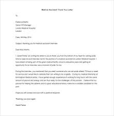 ideas of thank you letter after medical interview template