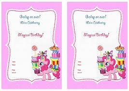 my little pony birthday invitations redwolfblog com