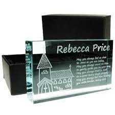 holy communion gifts for boys personalised holy communion jade block church design boy