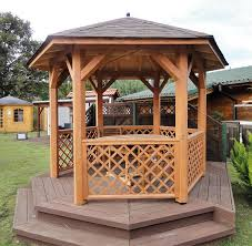8 Sided Wooden Gazebo by Pavilions And Gazebos