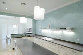 Colorful Kitchen Backsplashes Glass Style Backsplash