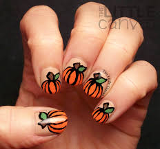 thanksgiving nail polish colors polishpals thanksgiving pumpkin nail art the little canvas