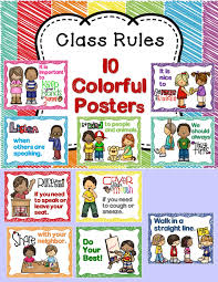 Best Room Posters Class Rules And Manners With Student Book Class Room Class