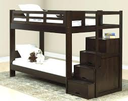 loft style bunk bed loft bed and desk with shelves as stairs