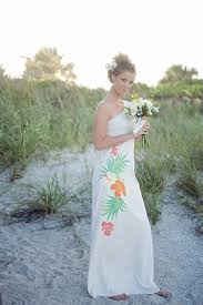 hawaiian wedding dresses one shoulder hawaiian wedding dress