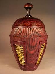 lidded urn 01 harris woodturned items to admire