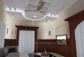 modern false ceiling design for bedroom duals night stand table
