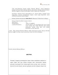 format abstrak tesis buku gaya penulisan ums