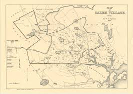 Massachusetts On Us Map by Maps Of Salem Village 1692