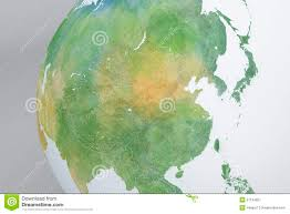 Korea Map Asia by Globe Map Of Asia China Korea Japan Relief Map Stock