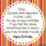 what to write in a birthday card for your boss best 25 happy