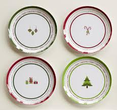 christmas plates christmas dessert plates happy holidays